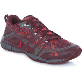 The North Face W's Litewave Ampere Shoes Dpgtrtrpypt/Melon Red